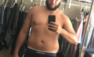 Jay's body transformation with AM Fitness