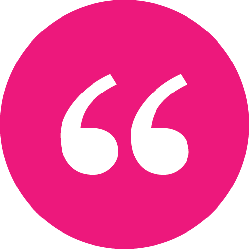 open quotes circle