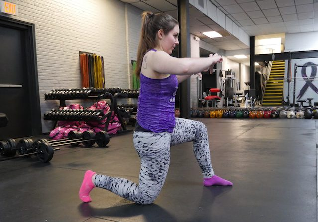 Modified Hip Flextor Stretch