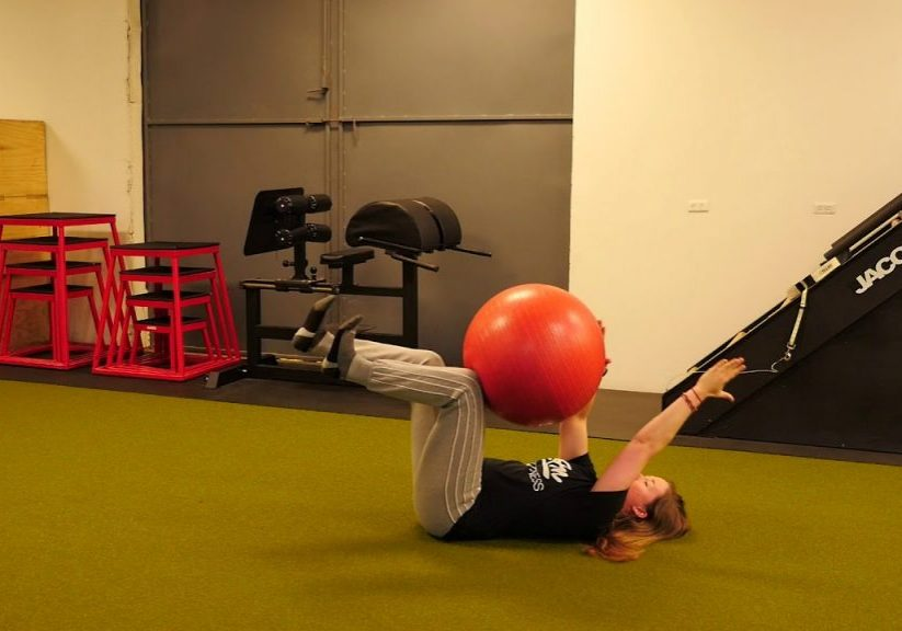 Exercise of the Week – Stability Ball Deadbug