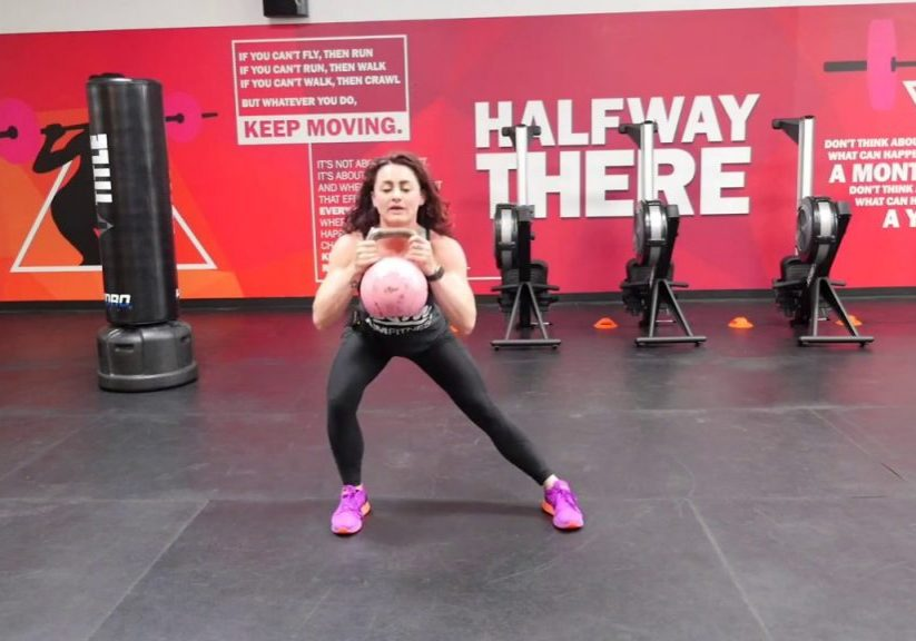 Exercise of the Week – Kettlebell Static Alternating Lateral Lunge